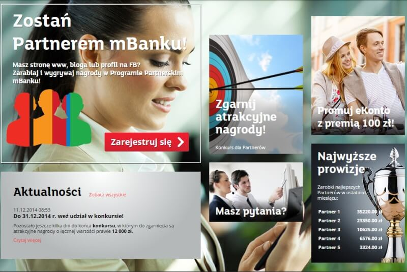 Mbank - biznes online