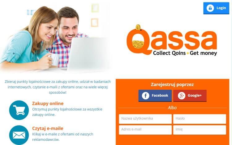 Zarabianie na ankietach na Qassa