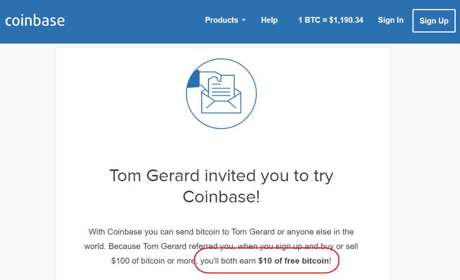 Zarabianie na bitcoin w programie partnerskim coinbase